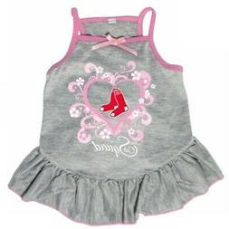 "Boston Red Sox ""Too Cute Squad"" Pet Dress - Small"