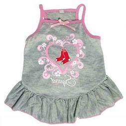 "Boston Red Sox ""Too Cute Squad"" Pet Dress"