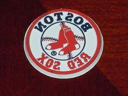 MLB Vintage BOSTON RED SOX Old RUBBER Baseball FRIDGE MAGNET