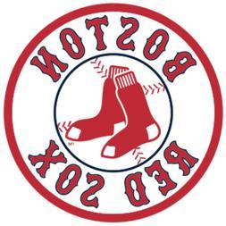 Set of 2 Boston Red Sox Vinyl Sticker Decal for Cornhole Car