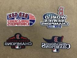 Boston Red Sox World Series Champions Patch Set 2004 2007 20