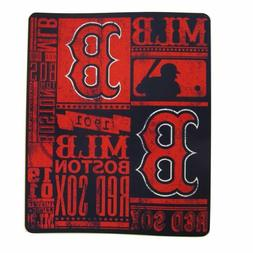 Boston Redsox MLB Strength Fleece Throw Blanket 50 x 60