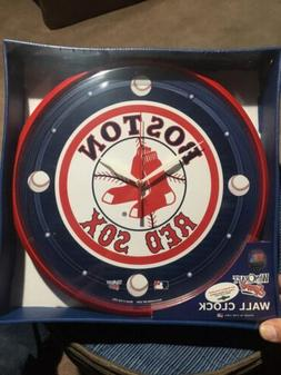 Brand New MLB Boston Red Sox Wall Clock New In box. Great Fo