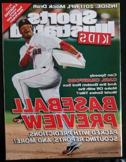 CARL CRAWFORD Sports Illustrated For Kids April 2011 Boston