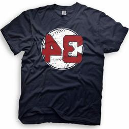 David Ortiz - Big Papi -Boston Red Sox - Number 34 T-Shirt