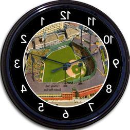 Fenway Park Wall Clock Baseball Boston Red Sox MLB Stadium V