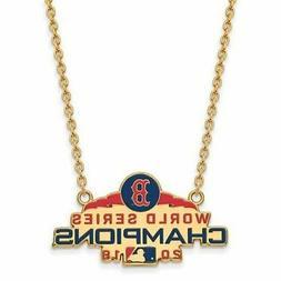 GP Boston Red Sox World Series 2018 Large Enamel Pendant wit