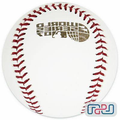 2007 world series official mlb game baseball
