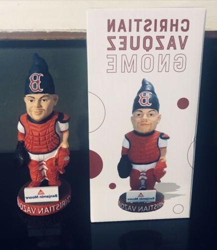2018 boston red sox christian vazquez gnome