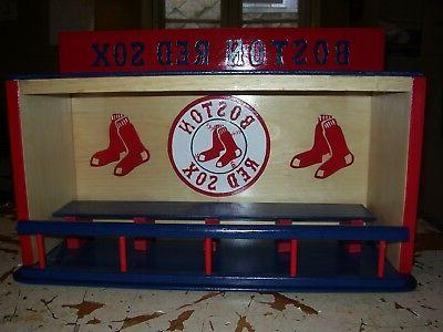 bobble heads display case boston red sox