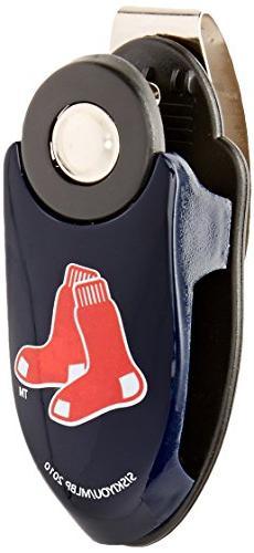 Boston Red Sox 3 in 1 Auto Car Sun Visor Clip Pen Note Sungl