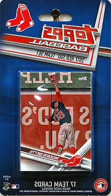 Boston Red Sox 2017 Topps Factory Team Set Betts Sale 2018 W