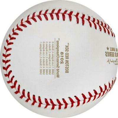 Boston MLB World Series Logo Baseball