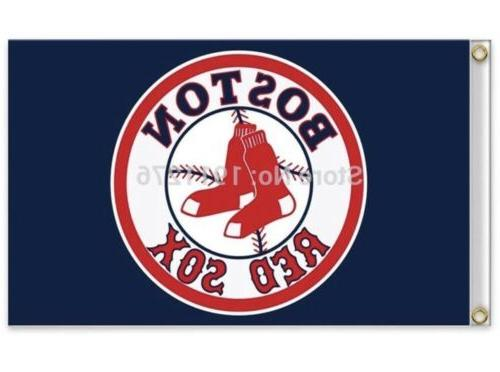 boston red sox 3x5 ft logo flag
