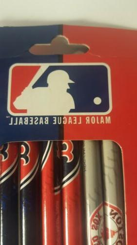 Boston Red Pack Pencils and 2 pack of ball