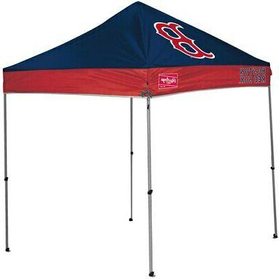 boston red sox 9 x 9 canopy