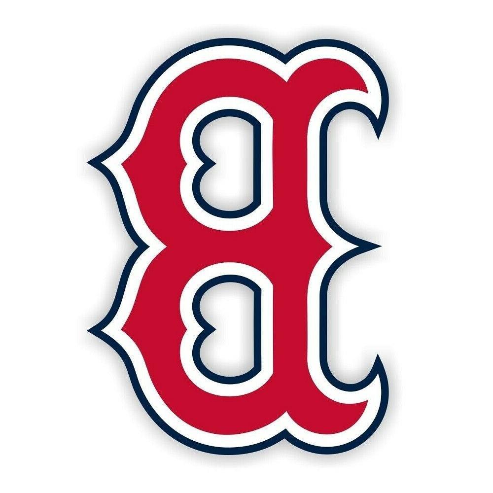 Boston Red Sox B Sticker Die Truck Wall