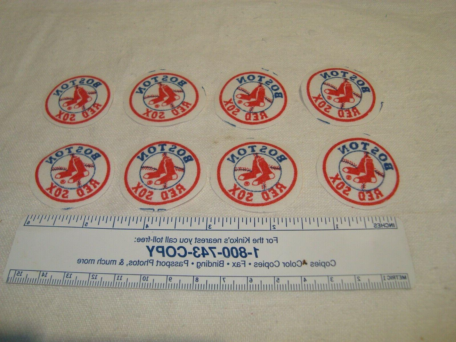 Boston Sox Cotton Fabric Emblems Appliques