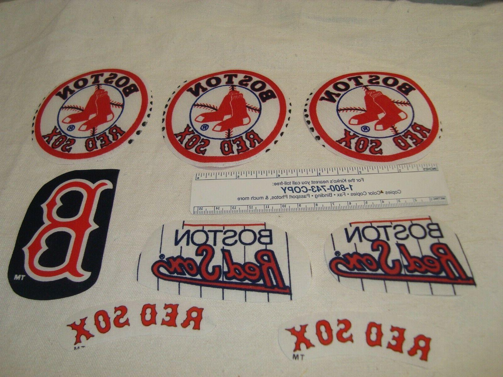 boston red sox baseball cotton fabric iron