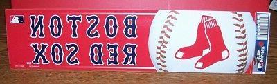 boston red sox bumper strip sticker decal