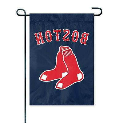 boston red sox embroidered garden window flag