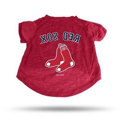 boston red sox small pet tee shirt