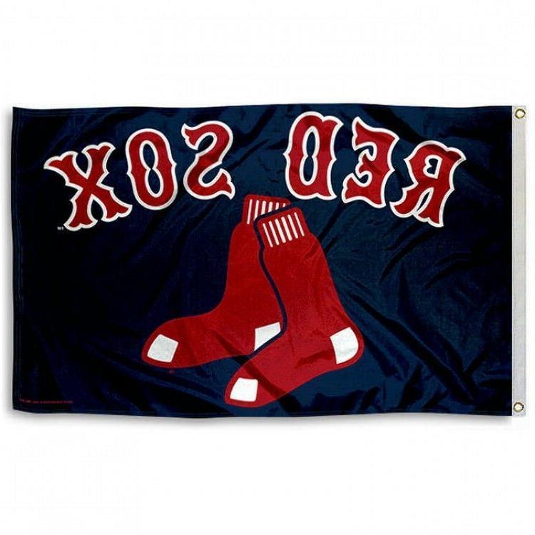 boston red sox flag 3 x5 mlb