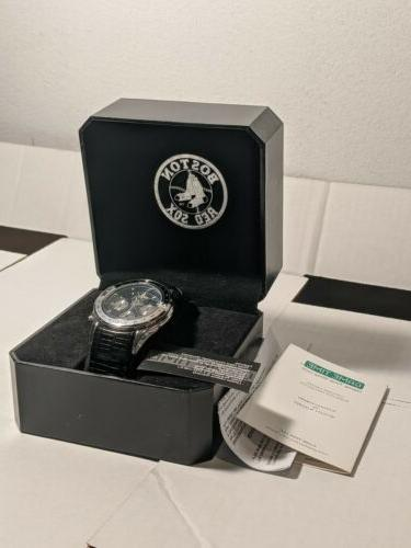 Boston Sox Men's Chronograph by GameTime New in Box Large