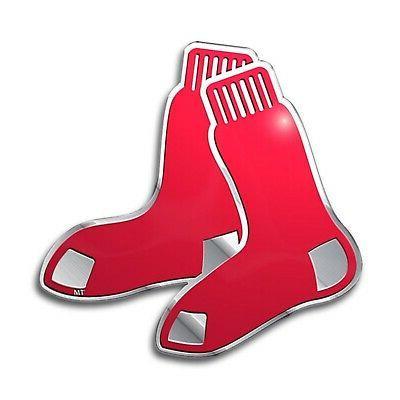boston red sox metal aluminum die cut