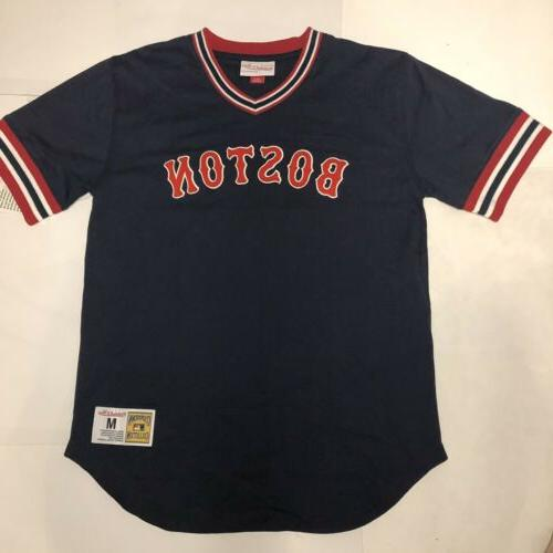 boston red sox mitchell and ness jersey