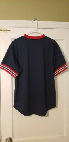 Boston Red Sox Mitchell Mesh Size Large New