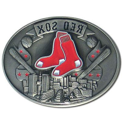 Boston Red Sox Official MLB Belt Buckle by Siskiyou 043314