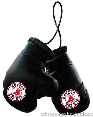 boston red sox mlb boxing gloves car