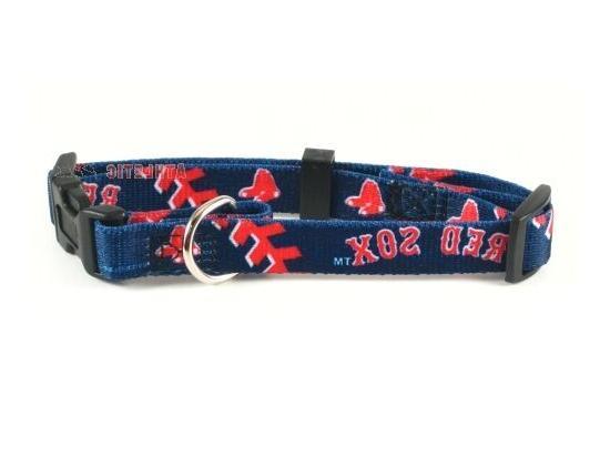 boston red sox mlb dog pet collar