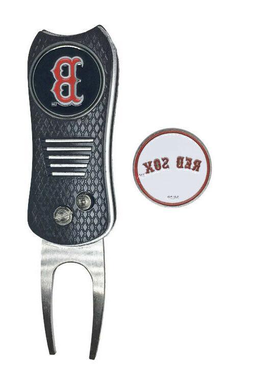 boston red sox mlb golf ball marker
