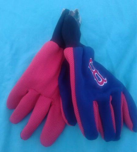 Boston Sox Utility Gloves Winter Adult