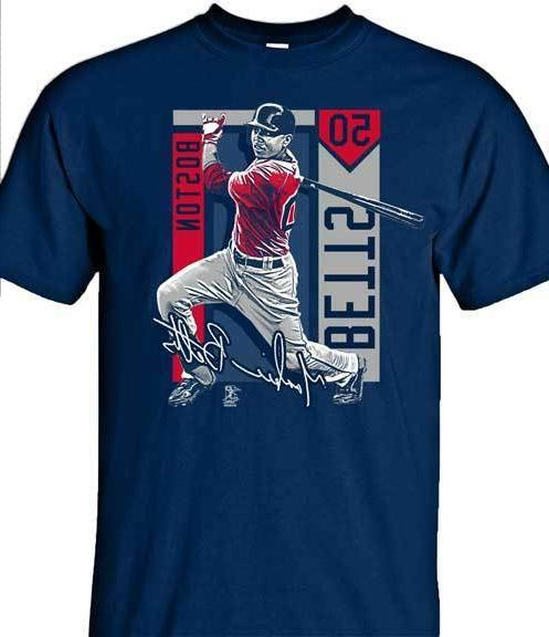 boston red sox mookie betts 50 color
