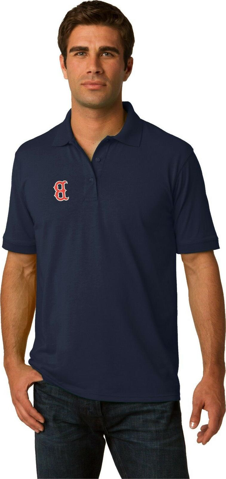 boston red sox polo golf shirt up