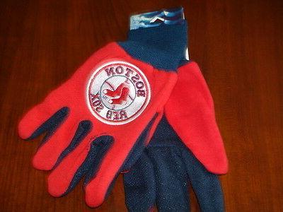 boston red sox work gloves