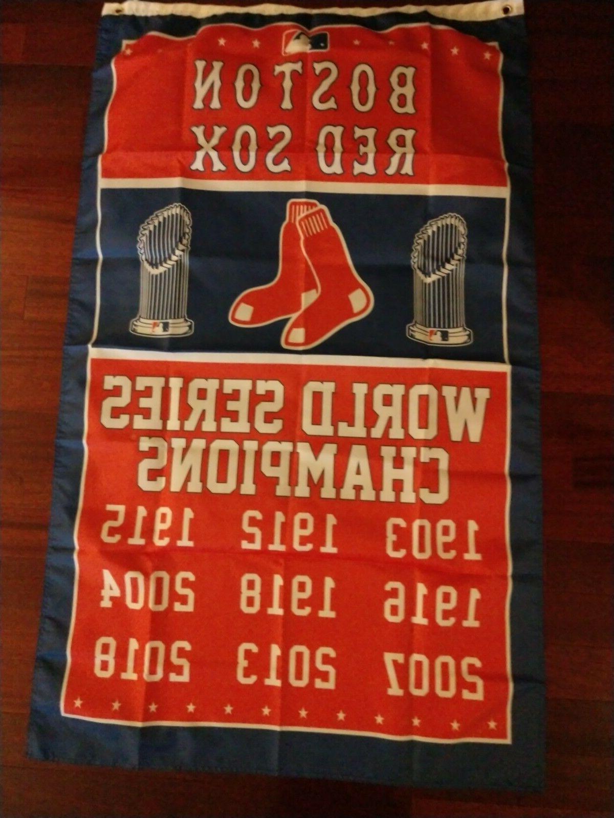 boston red sox world series 3x5 flag