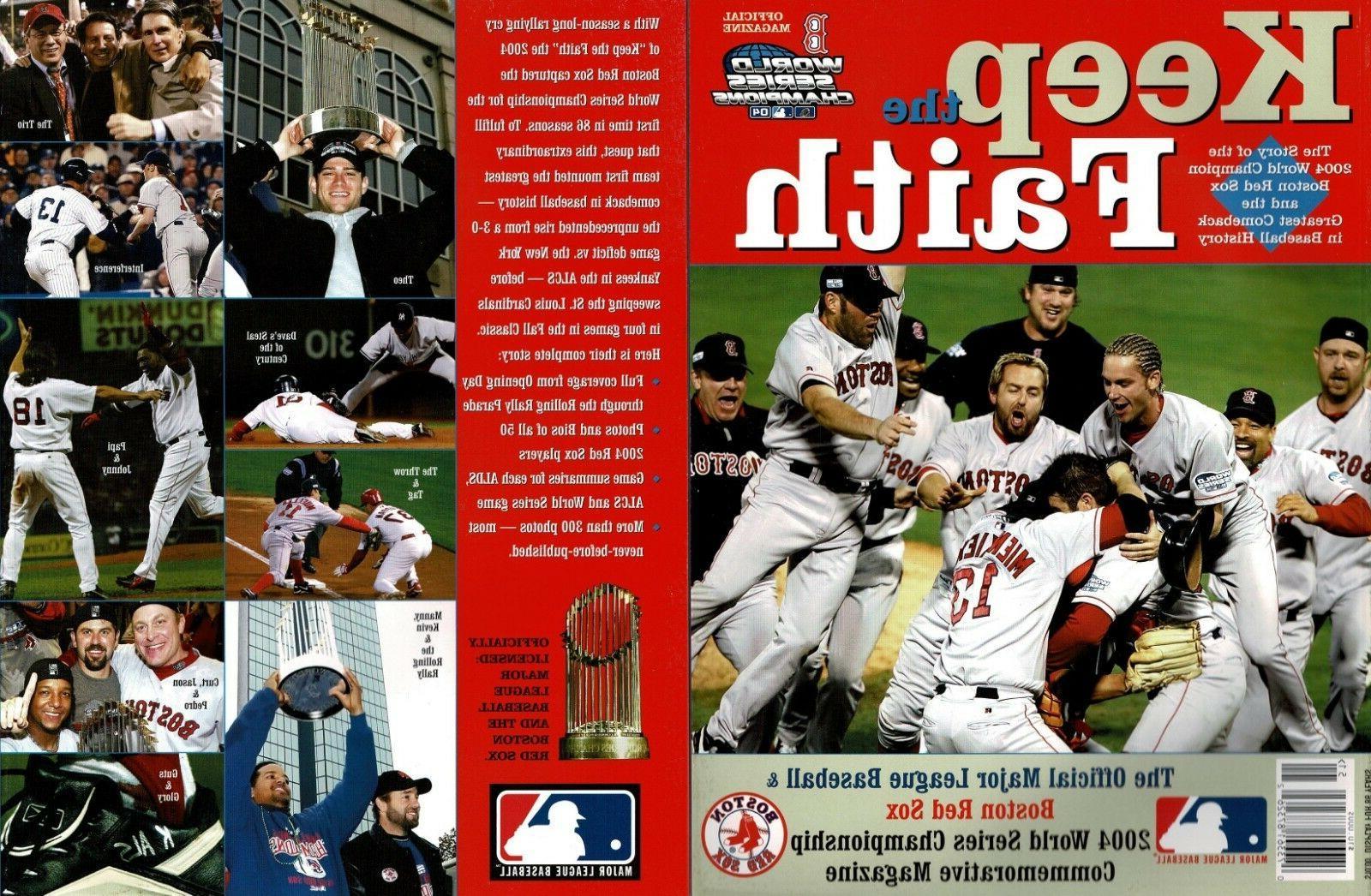 keep the faith boston red sox 2004