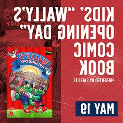 kids wally s opening day comic book