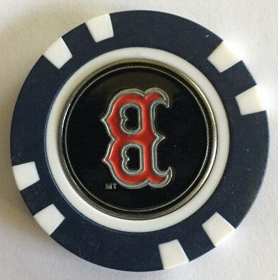 mlb boston red sox magnetic poker chip