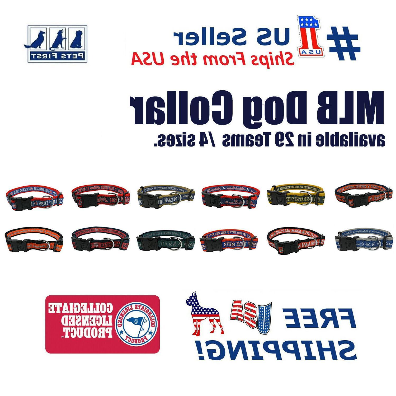 mlb collars heavy duty durable and adjustable