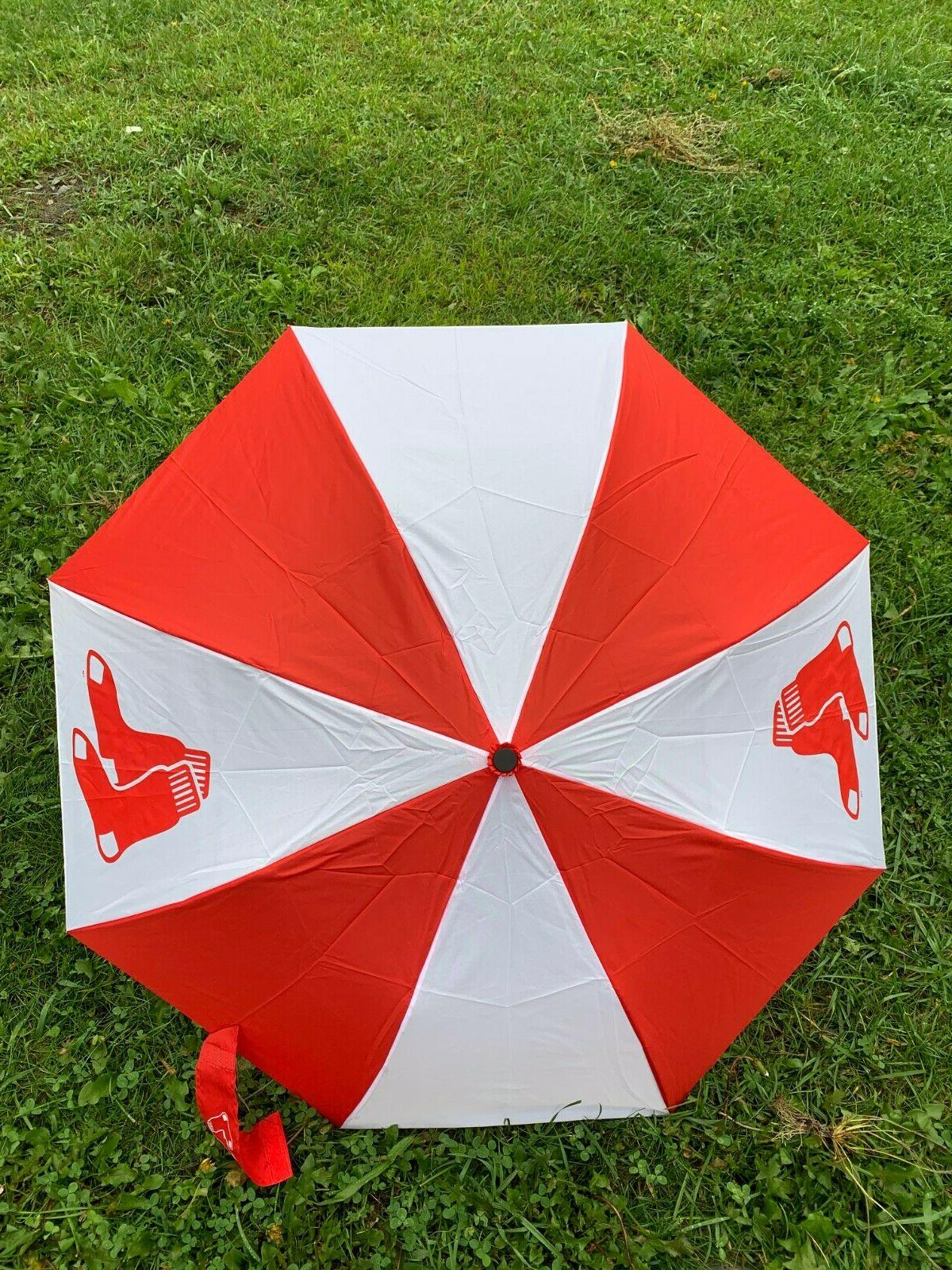 new mlb boston red sox umbrella auto