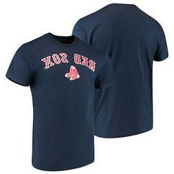 Men's Majestic Navy Boston Red Sox Bigger Series Sweep T-Shi