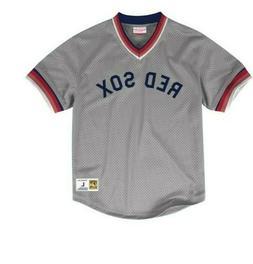 Mitchell & Ness Boston Red Sox Baseball Jersey New Mens Size
