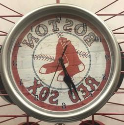 """MLB Boston Red Sox 10"""" Wall Clock"""