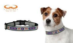 MLB Boston Red Sox Baseball Pet Collar, Toy, Reflective