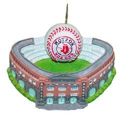 NEW!  Kurt S. Adler MLB Boston Red Sox Fenway Park W/Basebal